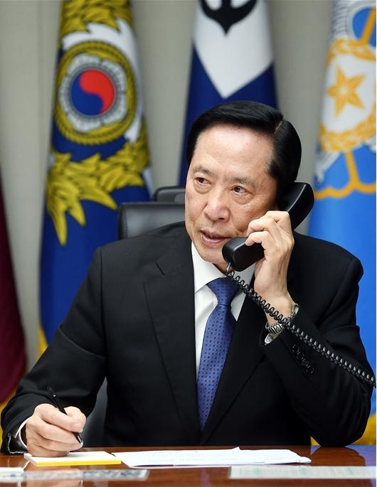 한미 국방, 전화로 연합훈련 관련 의견 교환