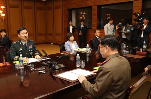 """[일문일답]南수석대표 """"오랜기간 산적한 군사현안 한번에 해결할 수 없어"""""""